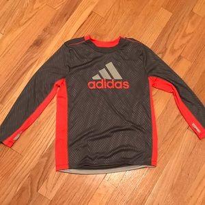 Boy's Adidas Long Sleeve Tee Shirt Size 7